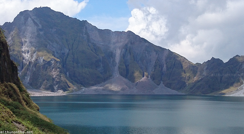 Mt.Pinatubo crater lake