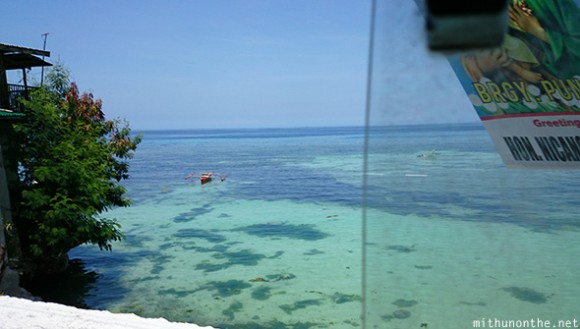 Blue sea Oslob Cebu