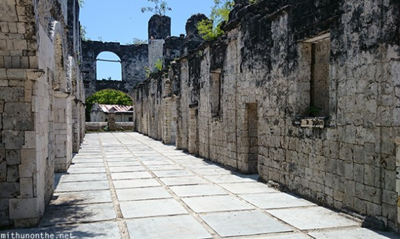 Cuartel remains Oslob Cebu