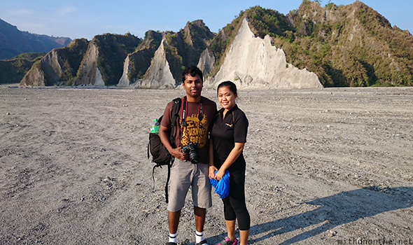 Mithun Gale Mt. Pinatubo tour
