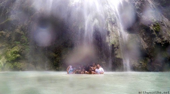 Mithun group photo Tumalog falls