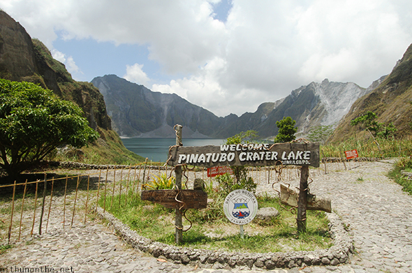 Mount Pinatubo crater lake park Tarlac