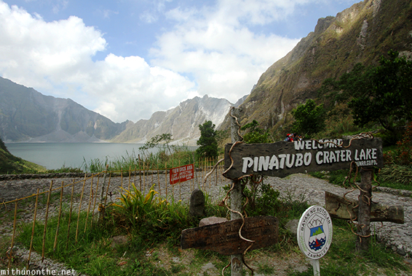 Mount Pinatubo crater lake park