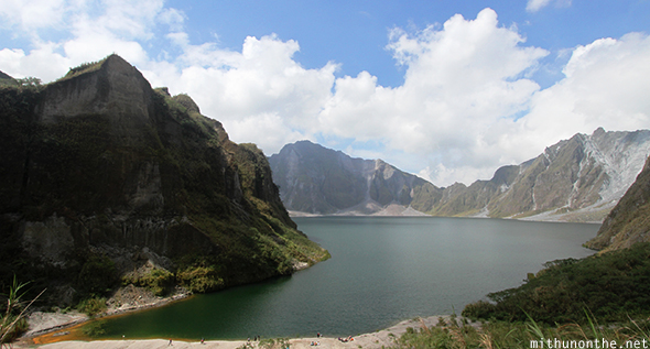 Mount Pinatubo crater lake Philippines