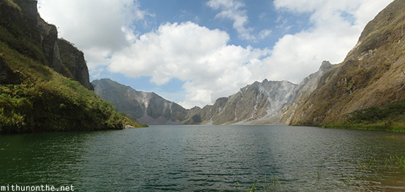 Mt. Pinatubo lake panorama