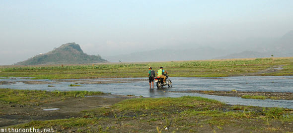 Mt. Pinatubo tour by bike