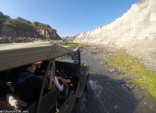 Mt. Pinatubo tour by jeep GoPro