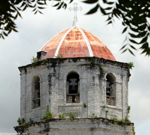 Oslob church bell tower Cebu