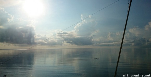 Oslob sea morning calm Philippines