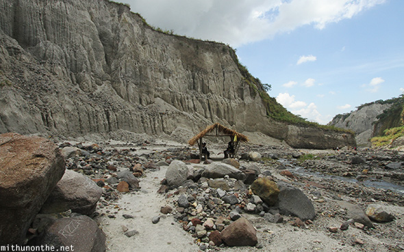 Pinatubo trek rest hut