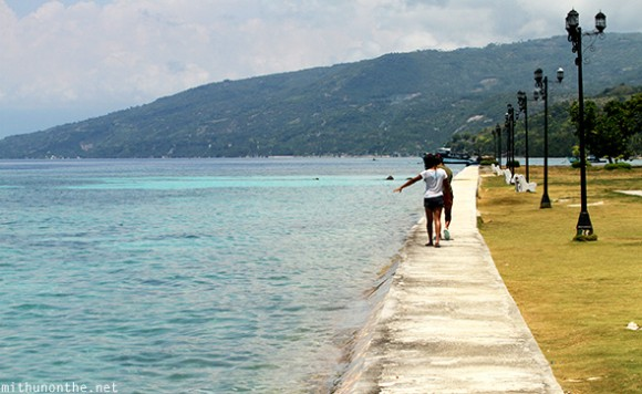 Sea side Oslob park Cebu
