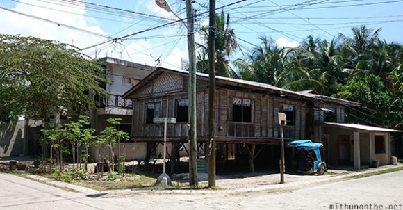 Stilt house Oslob Cebu