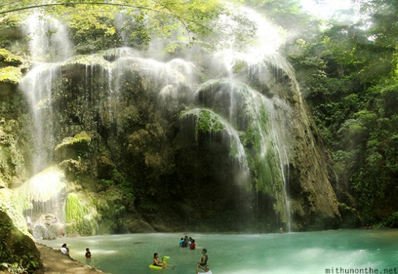 Tumalog broken waterfalls Oslob Philippines