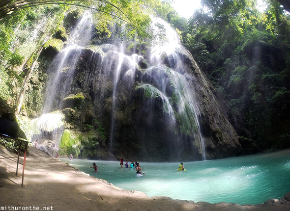 Oslob Philippines  City new picture : Philippines 2014: Tumalog Falls; Oslob church, Cuartel