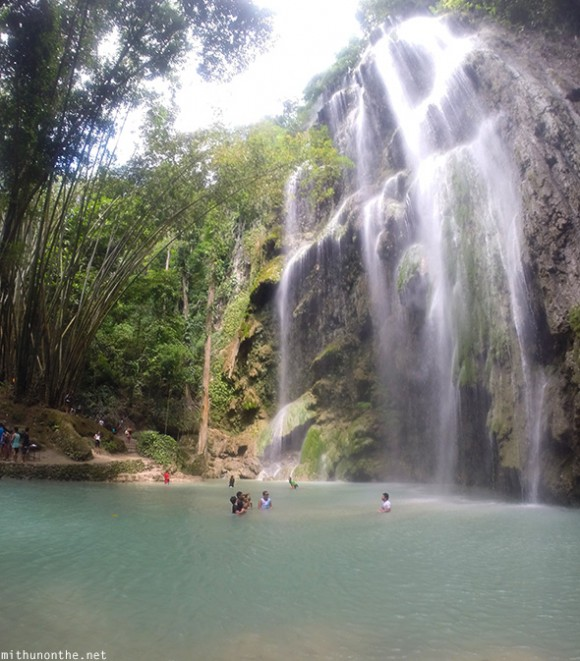 Oslob Philippines  City pictures : Tumalog falls pond Oslob Philippines