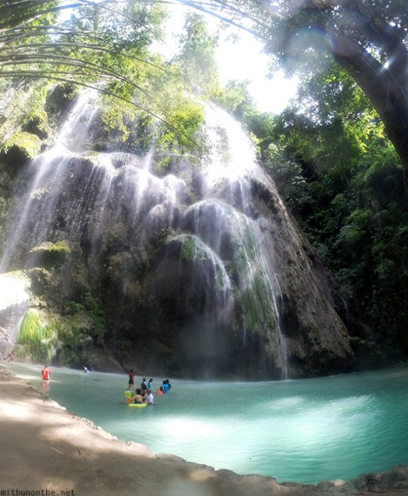 Tumalog waterfalls Oslob Philippines