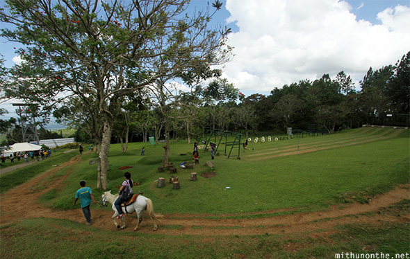Eden Nature park horse riding Davao