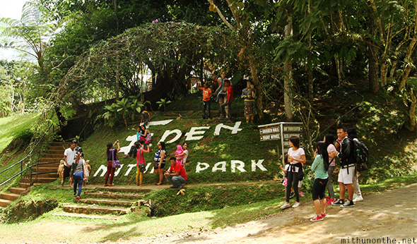 Eden Nature Park tourists Davao Philippines