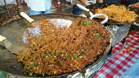 Mutton kheema egg fry Ramadan food India
