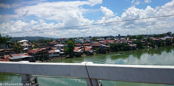 River side houses Davao City