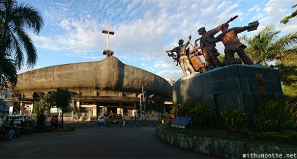 San Pedro Cathedral people monument-davao