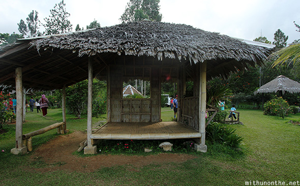 Hut Eden Nature park hillview
