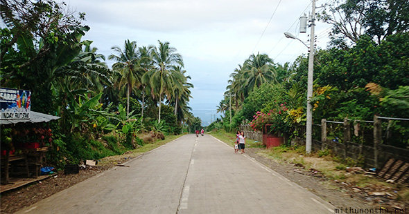 Road to Toril from Eden Nature park Davao