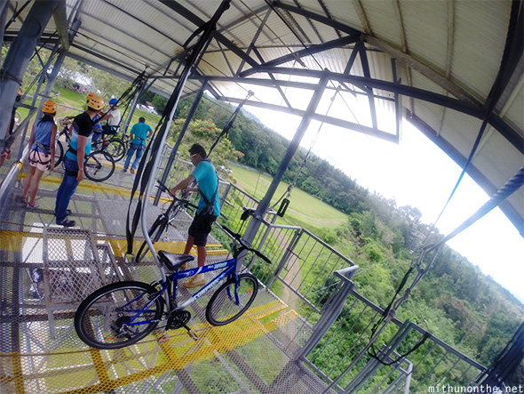 Sky Cycle tower Eden Nature park Davao