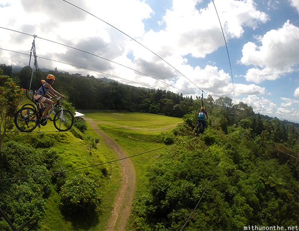 Sky Cycle ride Davao Philippines
