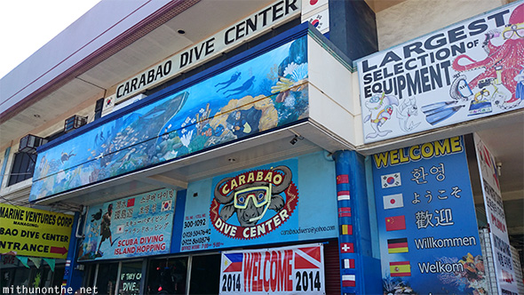 Carabao Dive Center Davao Philippines