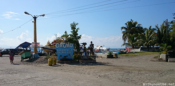 Davao port sea side