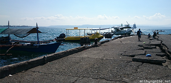 Davao port tour boats Philippines