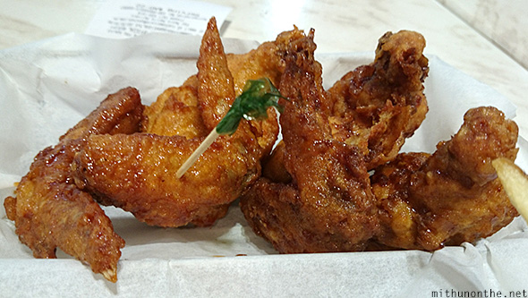 Bon Chon fried chicken Manila