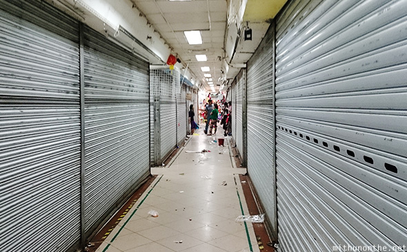 Closed stores 999 mall Manila
