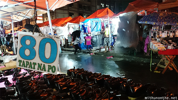 Divisoria night market Manila