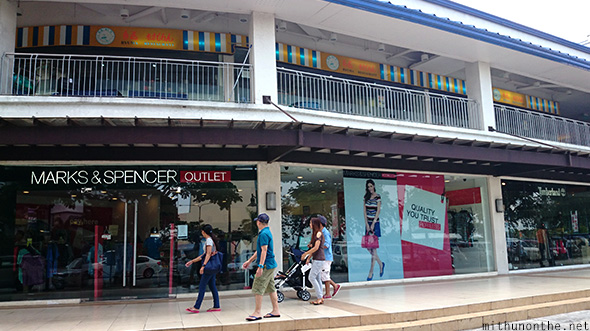 Marks & Spencer outlet store Paseo de Santa Rosa Philippines