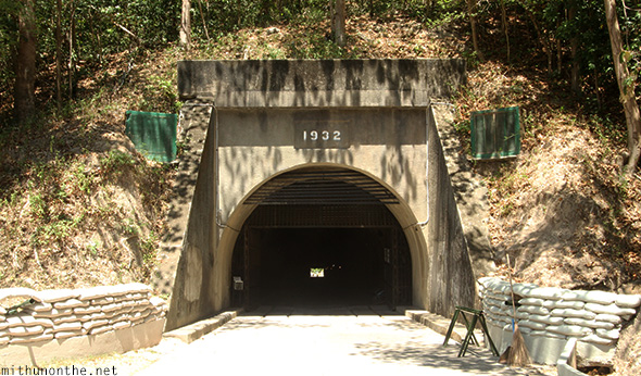 Back of Malinta tunnel Corregidor island