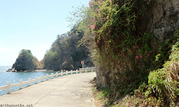 Corregidor island road seaside Philippines