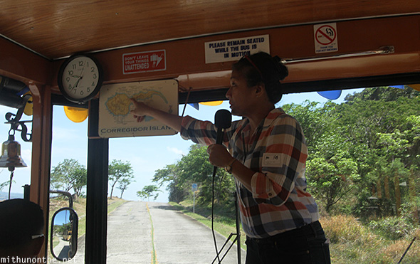 Corregidor island tour guide Philippines