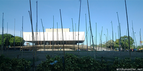 Cultural Center of Philippines building Manila