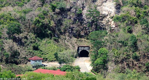 Malinta tunnel from above