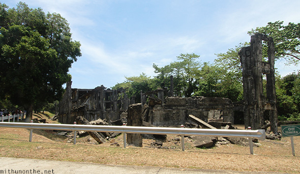 Middleside barracks demolished Corregidor Philippines