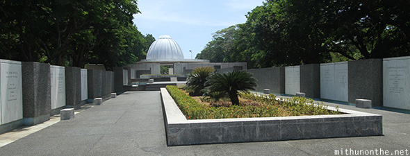 Pacific war memorial Corregidor island