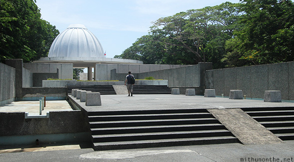 Pacific War Memorial dome Corregidor island
