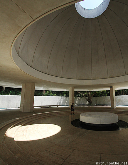 Rotunda Pacific war memorial Corregidor