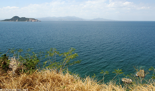 Sea islands near Corregidor island Philippines
