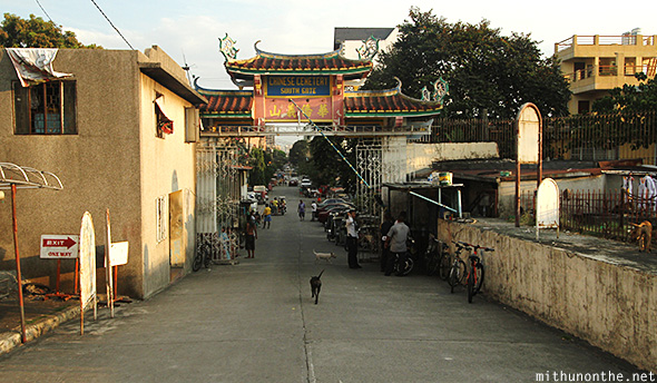 South gate exit Manila Chinese cemetery