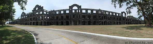 Topside barracks Corregidor island panorama