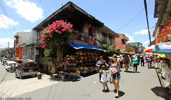 Corner houses Lucban Philippines