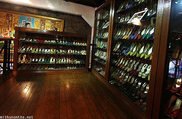 Imelda Marcos shoe collection Marikina